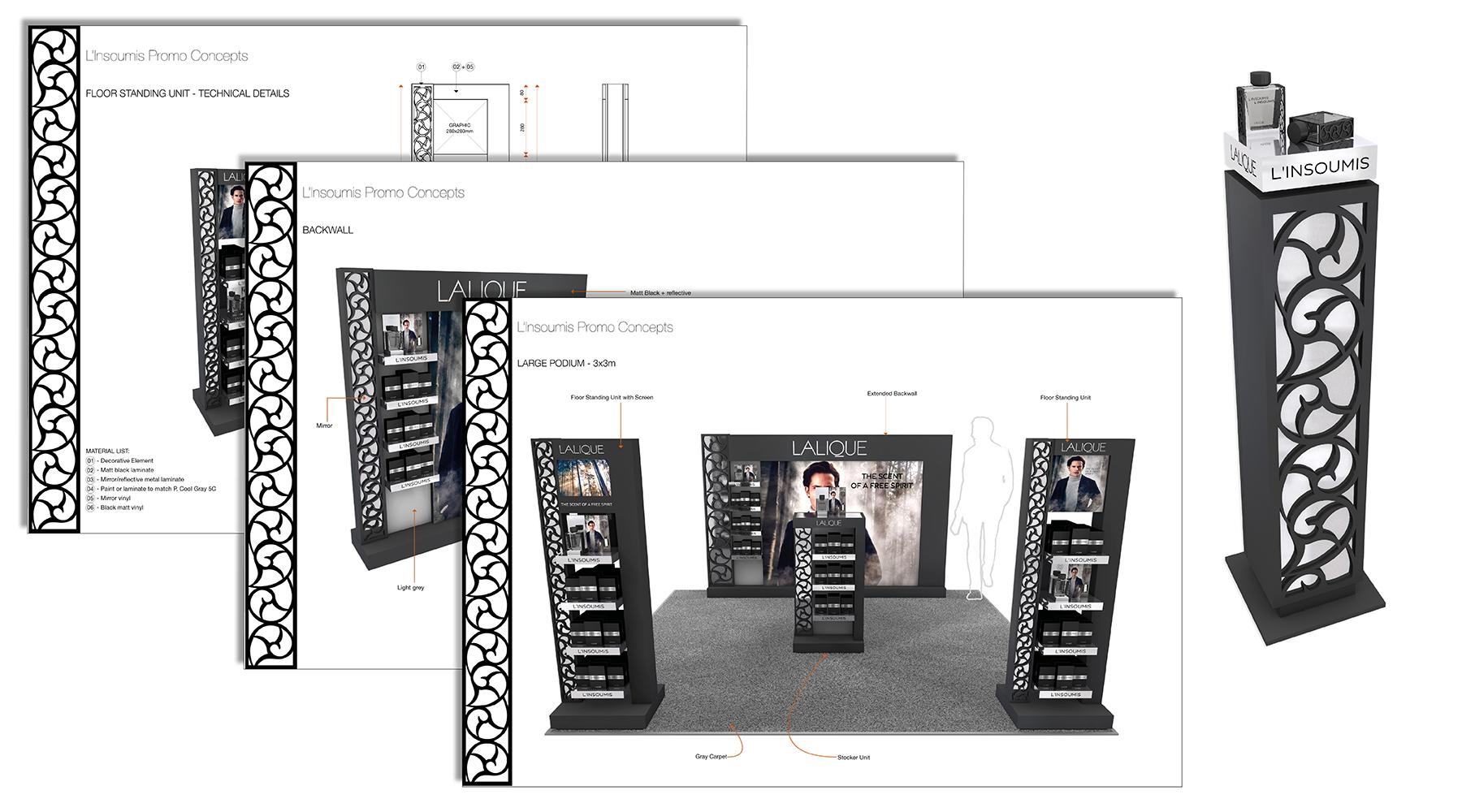 Lalique L'Insoumis Merchandise guidelines